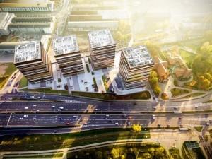 Wizualizacja Silesia Business Park, fot. Skanska Property Poland