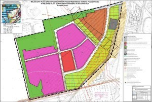 Miejscowy plan zagospodarowania przestrzennego dla terenu w okolicach ul. Gospodarczej, fot. UM Katowice