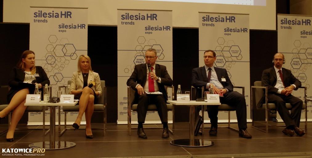 Od lewej: Anna Mirek, Agnieszka Orszulak, Tomasz Papaj, Mateusz Skowroński, Riccardo Zinno
