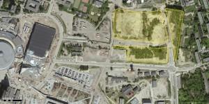 Lokalizacja terenu TDJ Estate przy ul. Nadgórników, fot. UM Katowice