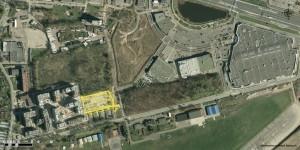 Teren przeznaczony pod rozbudowę osiedla Atal Francuska Park, fot. UM Katowice