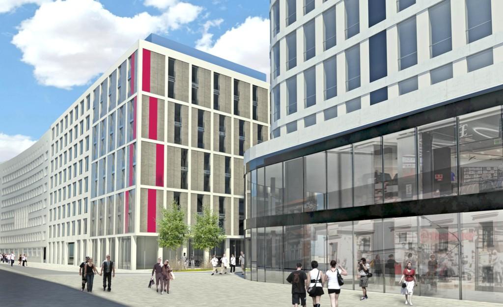 00d1af37a9 Przy ul. Młyńskiej powstaną biura oraz hotel. UBM Development ...